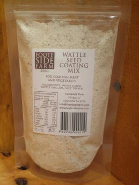 Wattle Seed Coating Mix2